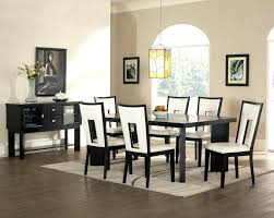 white dining room chairs modern formal design modern dining room black and white contemporary white leather