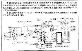 digital ac voltmeter circuit diagram the wiring diagram circuits > ac dc 3 digits voltmeter circuit l51676 next gr circuit diagram