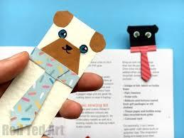 hug a book pug bookmark diy red ted art s