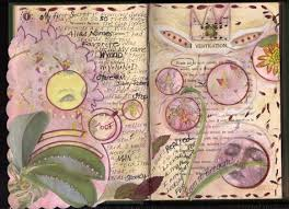 it all started with wanting to do an altered book hmmm which one i looked at several and it was tough because i usually old books for content to use