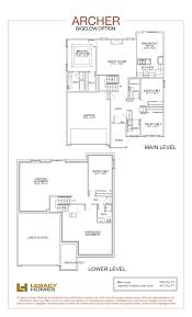 the archer floor plan bigelow option