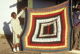 Big Jim: African-American quilt design | Stories by Big Jim ... & Mrs. Ella May Muldrow and Worth Long holding Mrs. Muldrow's strip quilt  ouside her home in Randolph, Arizona. Photo by Jim Griffith, Special to the  Arizona ... Adamdwight.com