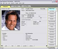 Access Personnel Database Template Employee Record Keeping System For Small Business