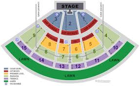 Pnc Music Pavilion Charlotte Seating Chart Pnc Seating Chart