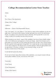 science teacher recommendation letter recommendation letter for teacher format sample example