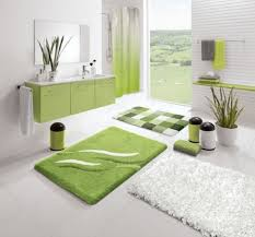 bathroom design themes. Beautiful-tropical-bathroom-design-with-green-and-white- Bathroom Design Themes C