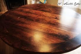 reclaimed wood round dining table toronto hd threshing gerald reinink 3 blog