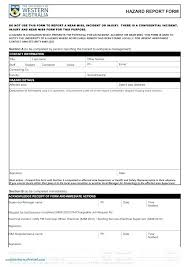 Editable Person Injured Incident Reporting Form Workplace