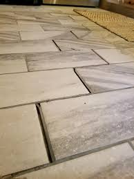 uncategorized can you lay tile over concrete inspiring why is my floor grout ing image of
