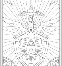 Legend Of Zelda Coloring Pages Coloring Pages Coloring Pages Sheik