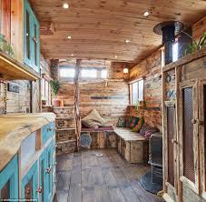 Luxury Mobile Home Craftsman Converts Old Horseboxes Into Stunning 778k Luxury
