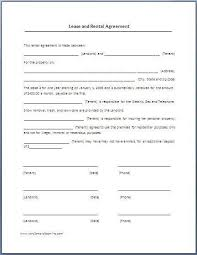 lease contract template sample of a lease agreement lease agreement create a free rental