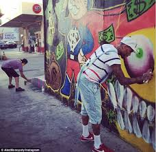 chris brown wall art