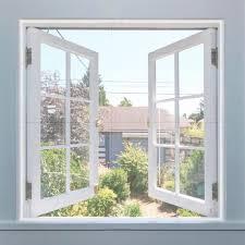 Aogolouk Fenster Insektenschutz Netz 3 Packungen Weiß 13 M X 15 M