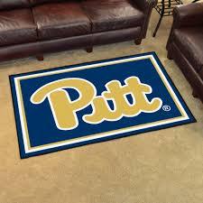 carpet 5x8. university of pittsburgh panthers area rug - nylon 5\u0027 x 8\u0027 carpet 5x8