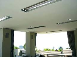 overhead heaters for patios outdoor ceiling mounted heater alluring patio gas revi