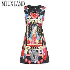 <b>MIUXIMAO 2019</b> Newest Spring & Summer <b>Fashion</b> A Line O Neck ...