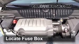 replace a fuse 2008 2012 buick enclave 2008 buick enclave cxl 3 6l v6 fuse box 2009 buick enclave replace a fuse 2008 2012 buick enclave
