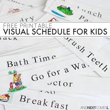 Daily Homework Chart For Kids