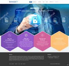 It Website Design Professional Modern Software Web Design For A Company By