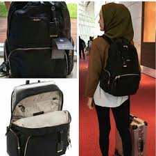 tumi calais backpack women s fashion bags wallets on carou