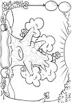 Винни пух и пчелы раскраска