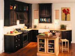 best kitchen cabinets ideas in wooden themed kitchen made of dark oat with simple design and elegant ornaments raise panel door holder