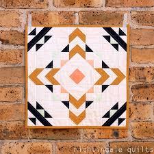 Ziggurat Mini | Modern quilting, Mini quilts and Minis & Ziggurat Mini. Mini Quilt PatternsBlock ... Adamdwight.com