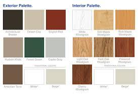 door patio window world: patio doors color palette all window world