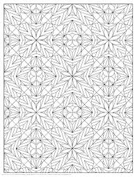 Geometric Pattern Coloring Pages Geometric Coloring Page Geometric