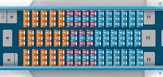 Klm Airlines Seating Chart Photos Klm Unveils Boeing 787 9 Seat Map