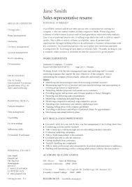 sample resume for sales representative position collection of solutions sample  resume for sales representative position for