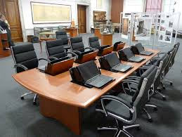 custom office tables. Conference Table With Laptop Computers - Longitudes By SMARTdesks Custom Office Tables E