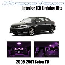 Scion Tc Dome Light Assembly Removal Xtremevision Scion Tc 2005 2007 10 Pieces Pink Premium Interior Led Kit Package Installation Tool