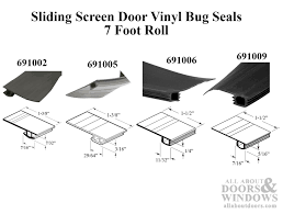 bug seal for sliding screen door 7 foot roll black how to install