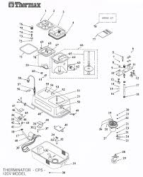 thermax cp5 professional hot water extraction cleaning system thermax cp5 professional hot water extraction cleaning system main unit parts list schematic