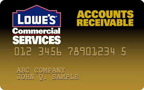 Lowes Commercial Credit Card Application Lowes Business Credit