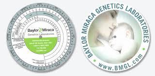 American Slide Chart Perrygraf Baylor Miraca Genetics