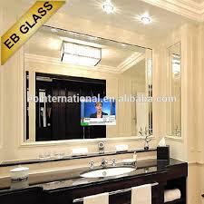 bathroom tv mirror magic mirror glass for liviing room hotel bathroom tv mirror two way mirror glass transpa mirror glass on alibaba com