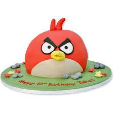 Angry Birds Cake Red Birthday Cakes