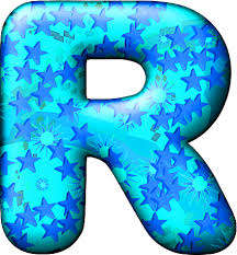 cool letter r presentation alphabets party balloon cool letter r
