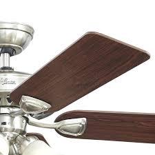 hunter fans downrods hunter in brushed nickel or flush mount ceiling fan with light