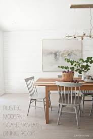 Best Images About Rustic Modern On Pinterest Modern - Rustic modern dining room chairs