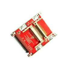 ide cards ide adapter 2 5 to 2 compact flash amedia computer france sas