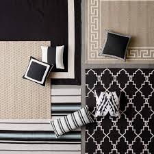 solid border indooroutdoor rug black williams sonoma black and white outdoor rug rugs black and white