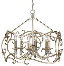 colette 6 light candle style chandelier