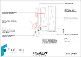 garage door flashing details nz wageuzi