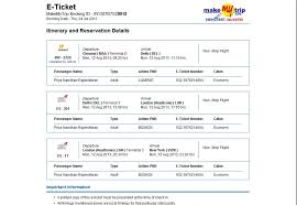 how i lost inr booking through travel agents online initial ticket makemytrip