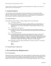 Business Requirement Example Project Management Scope Example Document Free Of Work Template
