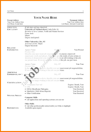 Different Types Of Resume Valid Various Types Resume Formats